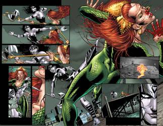 B N Wonder Woman issue 2 pg4-5 by ToolKitten