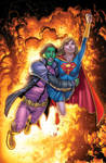 Supergirl number 52 cover