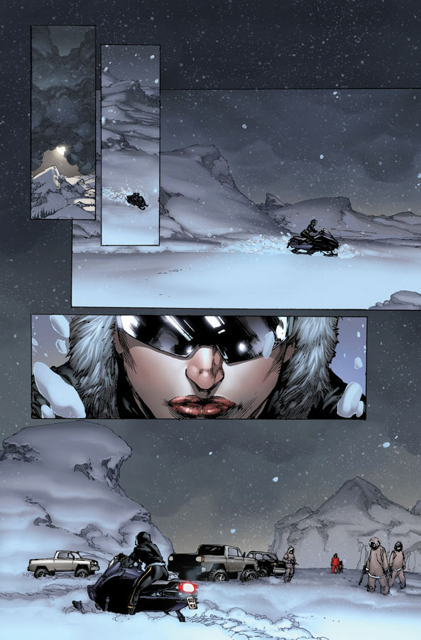 Birds of Prey issue 1 page 1 by ToolKitten