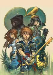 Kingdom Hearts by ToolKitten