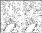Myths and Legends 9 Linearts