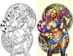 Alice in wonderland 4 blue rainbow exclusive