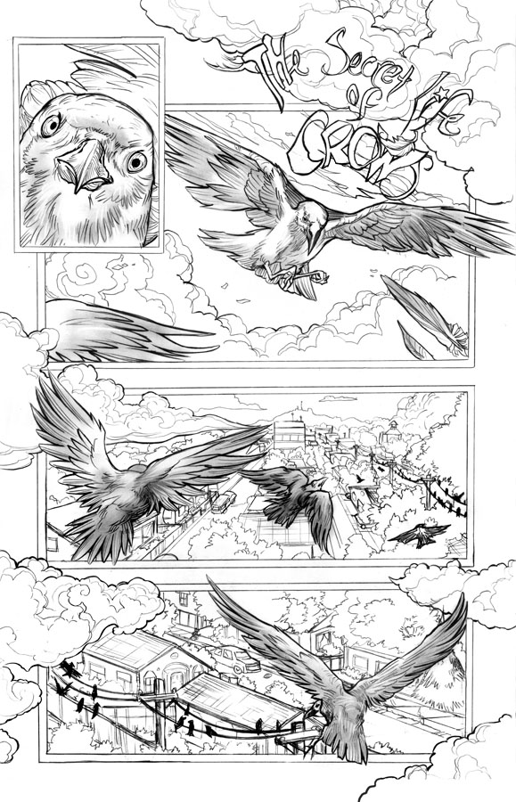 The Secret Life of Crows Page 1 by ToolKitten