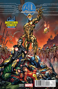 Age of Ultron cover