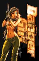 DangerGirl Trinity 1 cvr by ToolKitten