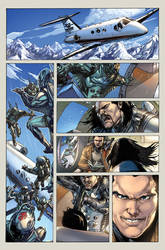Red Hood and the Outlaws issue 19 page 1 by ToolKitten