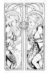 Lady Death Zodiac Gemini lines