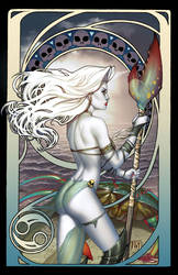 Lady Death Zodiac Cancer naughty by ToolKitten