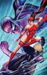 SavageWolverine Spidey and Elektra