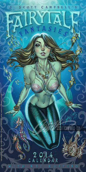FairyTale Fantasies 2014 SDCC EXCLUSIVE Cover