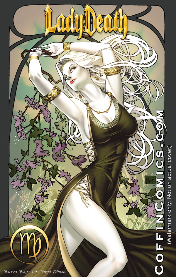Lady Death Zodiac virgo by ToolKitten
