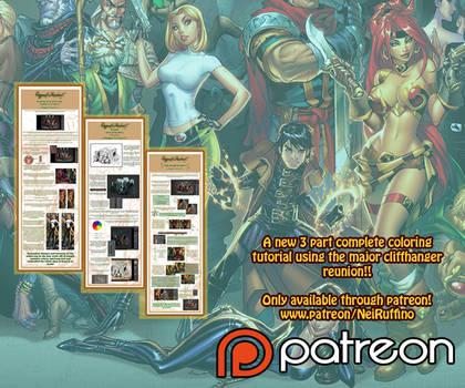 Cliffhanger Jam tutorials on patreon