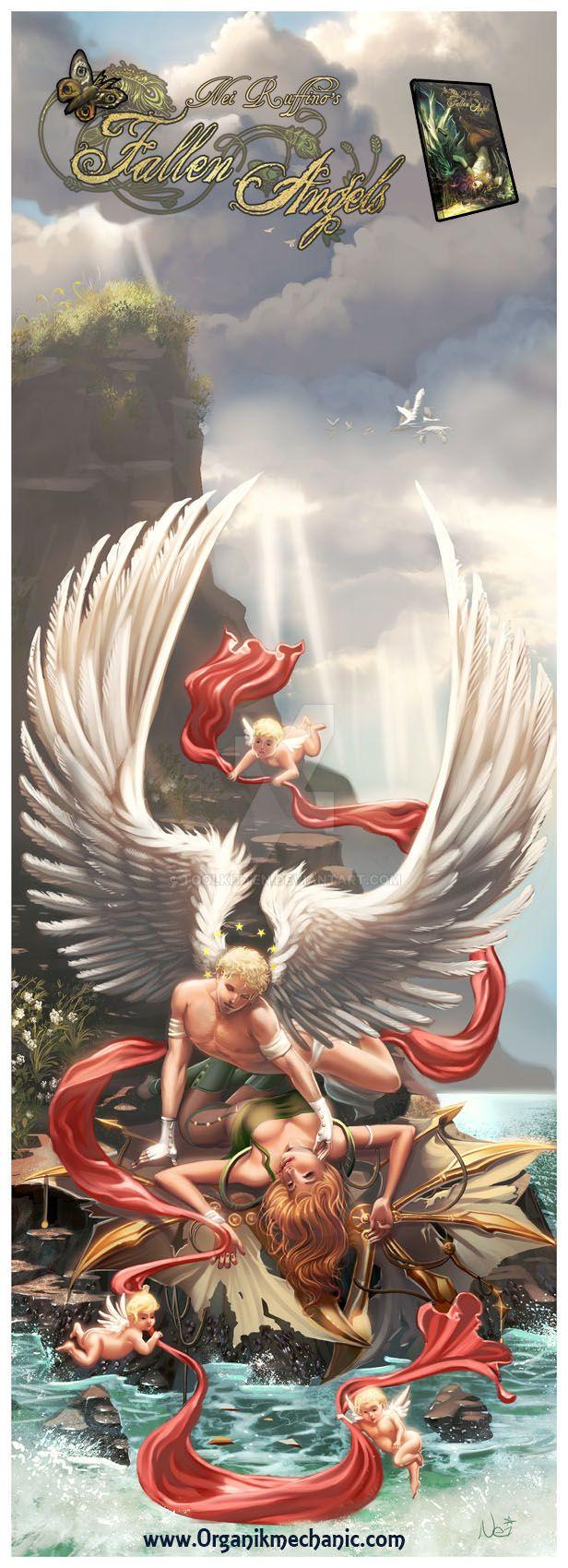 The Foolish fallen angel by ToolKitten