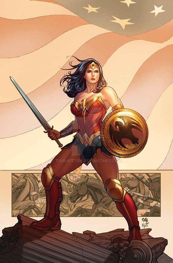 WonderWoman001covVariant by ToolKitten