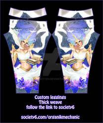 Glowyleggings wearable art