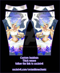 Glowyleggings wearable art