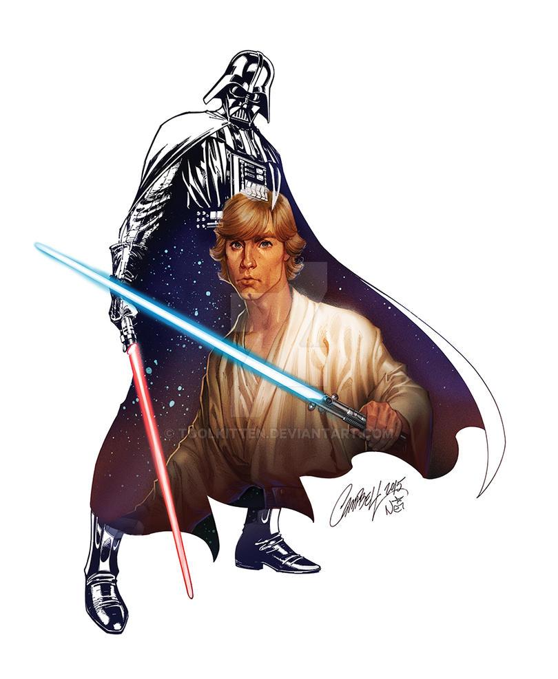 WonderGround Gallery Star Wars Luke by ToolKitten