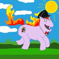 My Pony Self by pewdie-pinkiepie