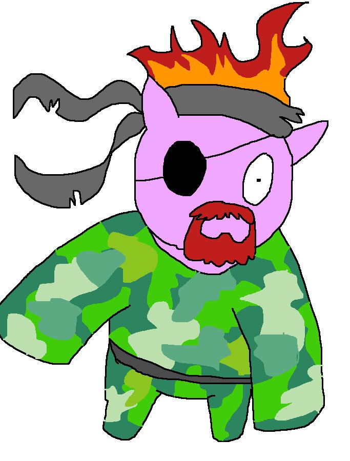 Metal Gear Clarence by pewdie-pinkiepie