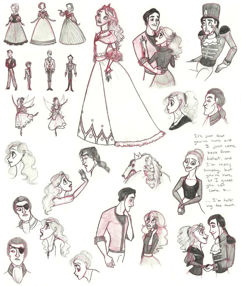 Nutcracker Doodles by ShayLaLaLooHoo