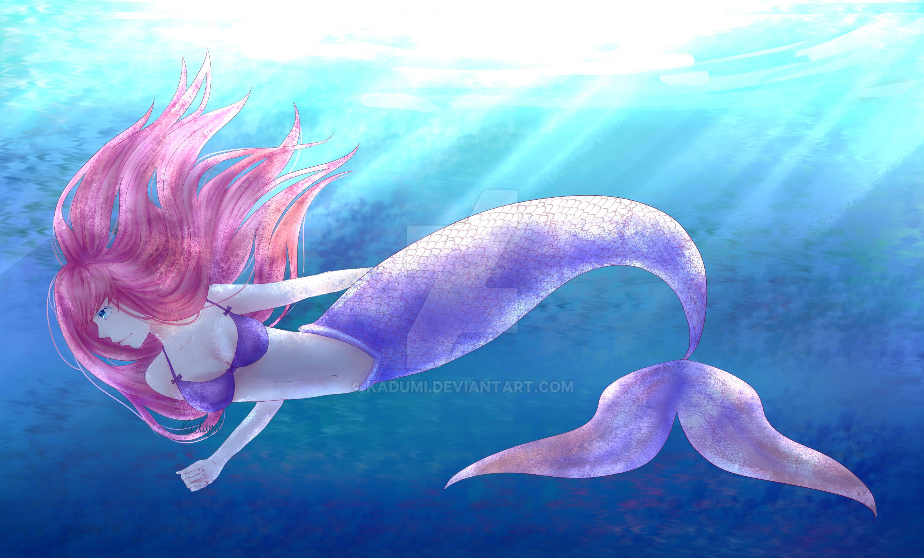 Mermaid by Kadumi
