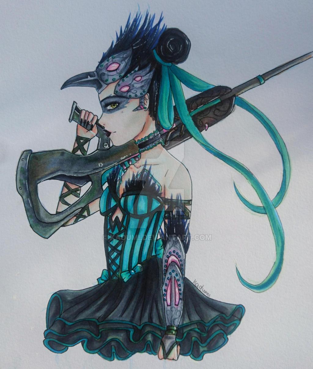 Fanart Widowmaker by Kadumi