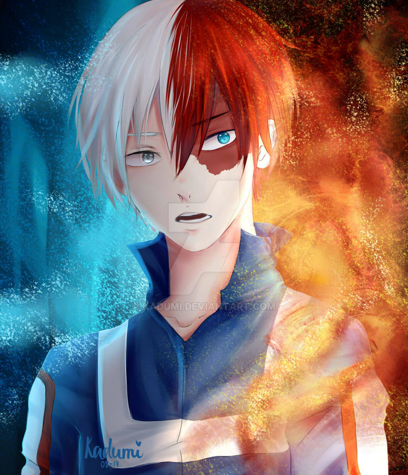 Shoto Todoroki by Kadumi