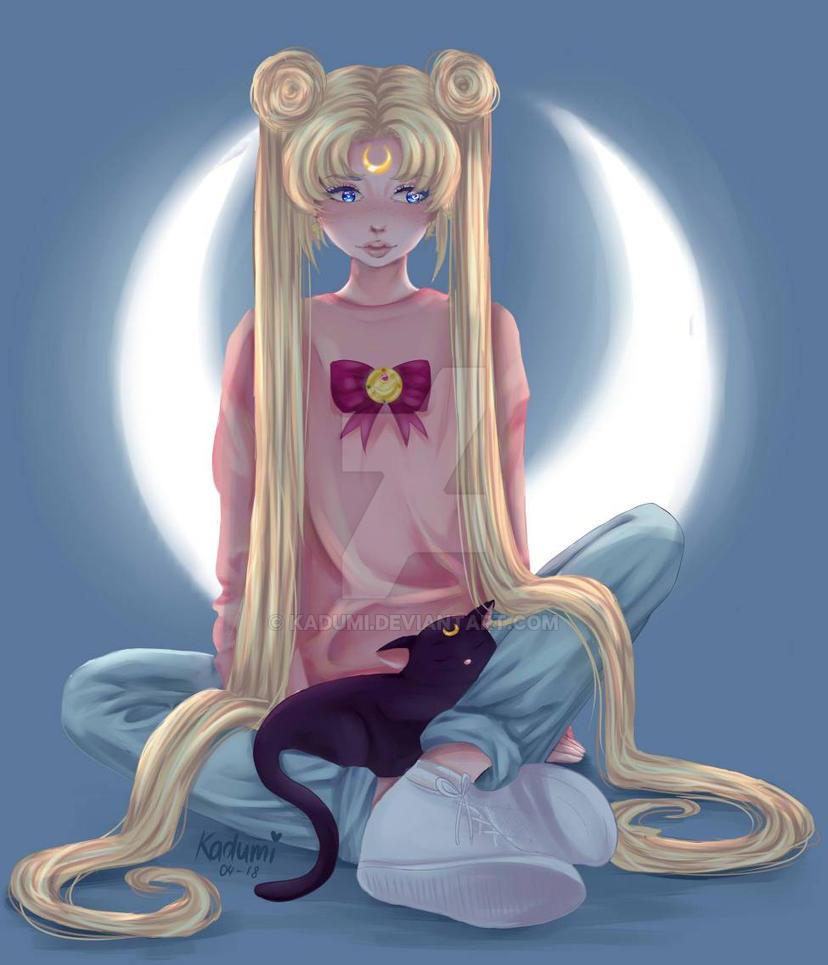 Sailor Moon by Kadumi