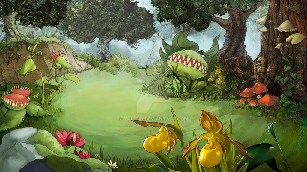 Forest 2D animated short: scene 1 background by tr1ff1d on ... - photo#5