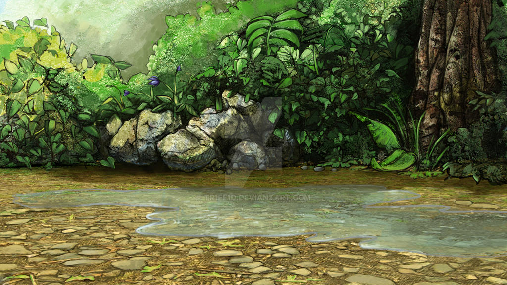 Forest 2D animated short: scene 9,15 background by tr1ff1d ... - photo#9