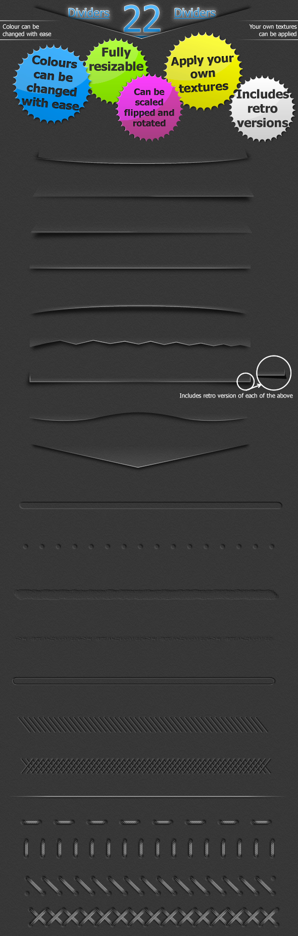 22 Amazing web dividers by Umbot