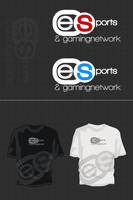 ESGN Logo And Shirt Concept by JereKel