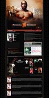 2 Pac Makaveli Brand Myspace by JereKel