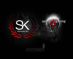 SK SheerKarnage Splash Page by JereKel
