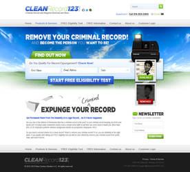 Criminal Record Clean Up Design