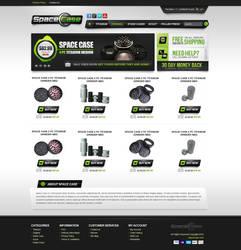 Space Case Website Design