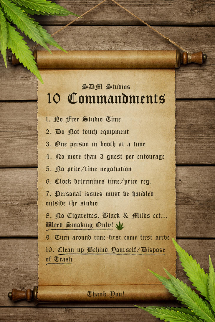 10 Commandments by JereKel