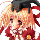 Girl-With-Black-Rabbit-128x128th by EditionCool-Luka