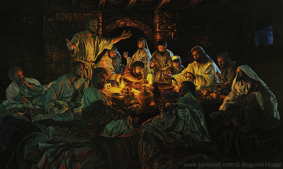 Last Supper by BogumilHoder