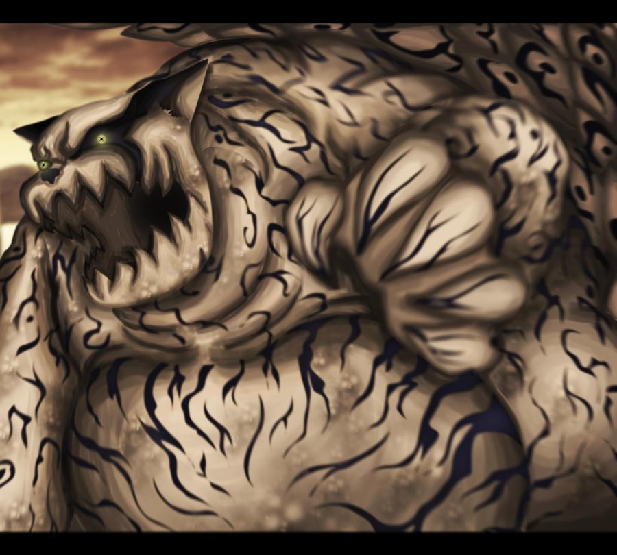 Tailed Beasts Wallpapers: Shukaku Of The Sand By EspadaZero