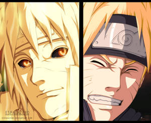 NARUTO 644 - Feelings conveyed...and connected