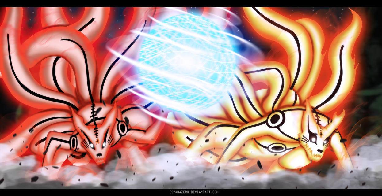 NARUTO 645 - Two Powers.. by EspadaZero