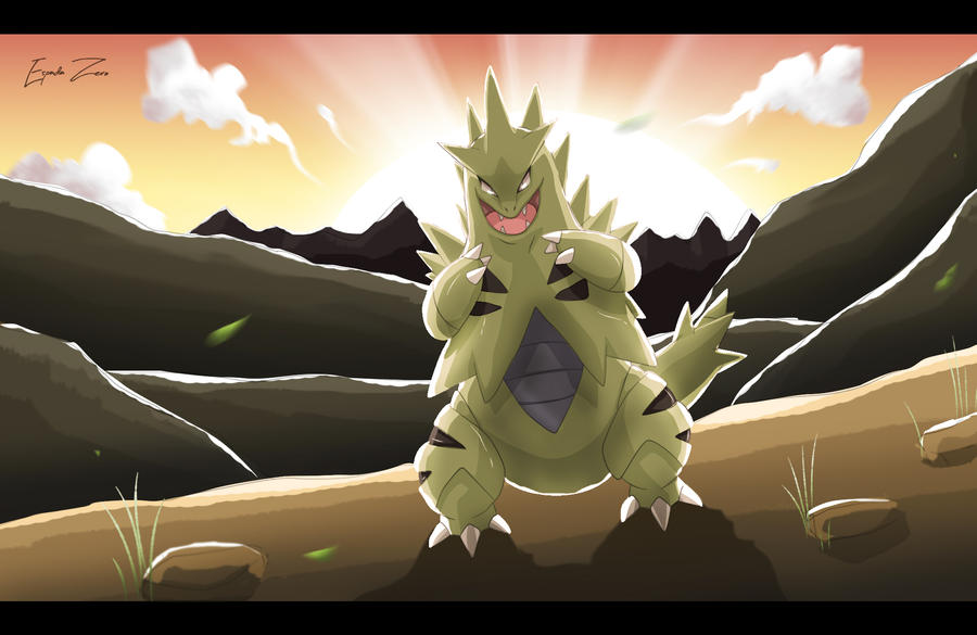 Pokemon: Tyranitar by EspadaZero