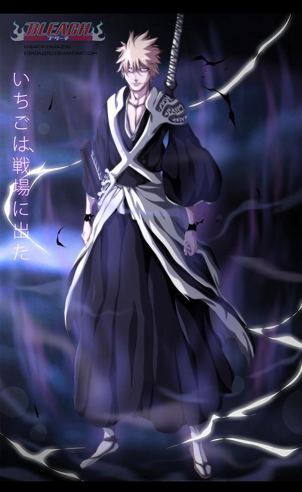 BLEACH 582 - Ichigo enters the battlefield... by EspadaZero