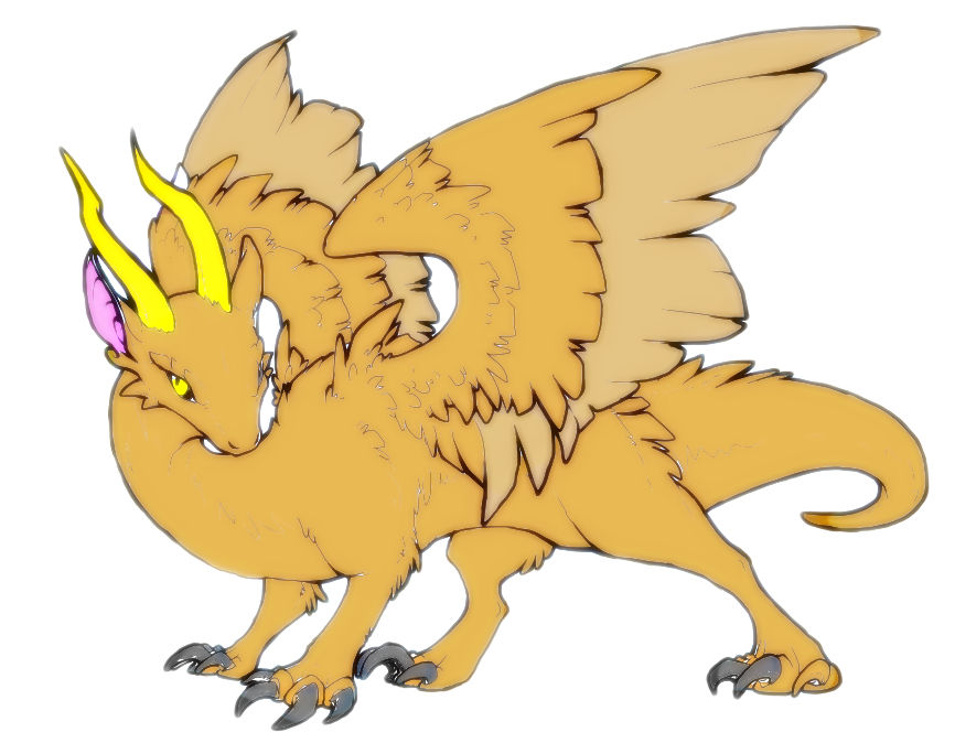 Gryphon/Dragon-thing.