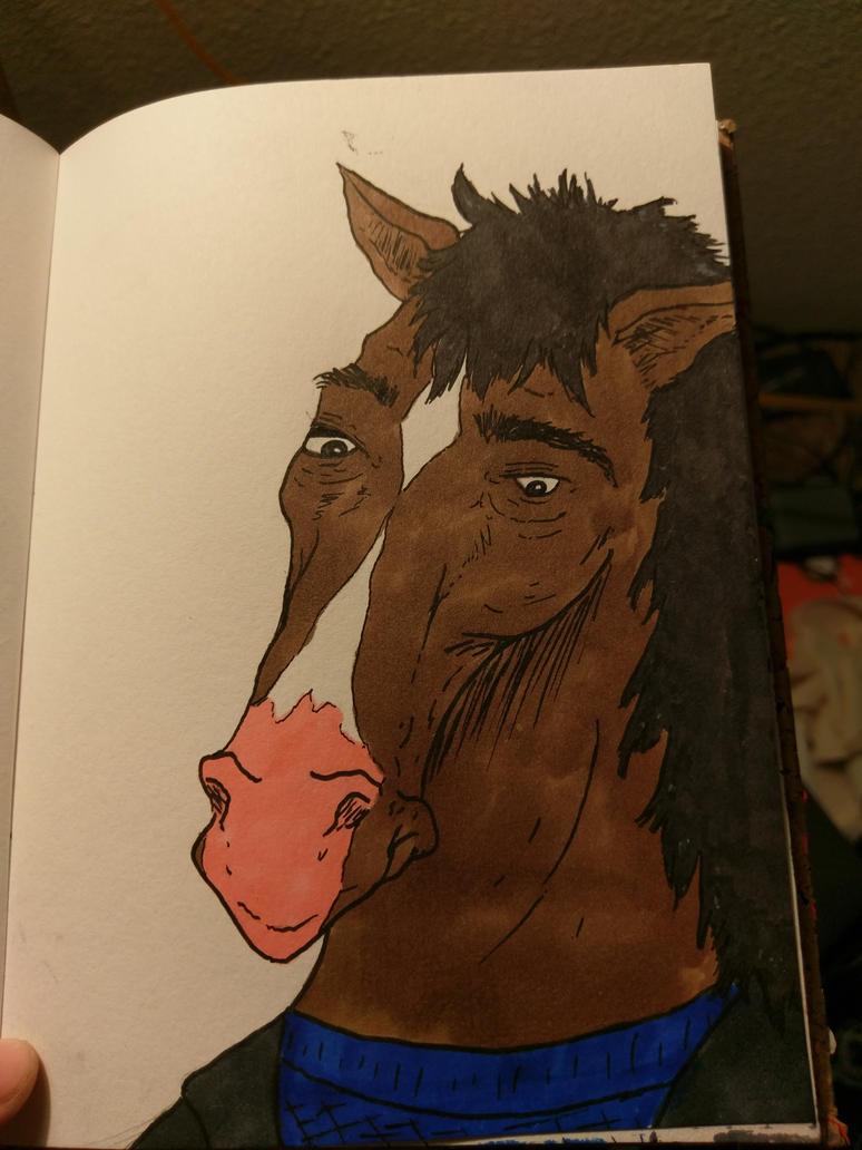 BoJack Horseman by R0seMW