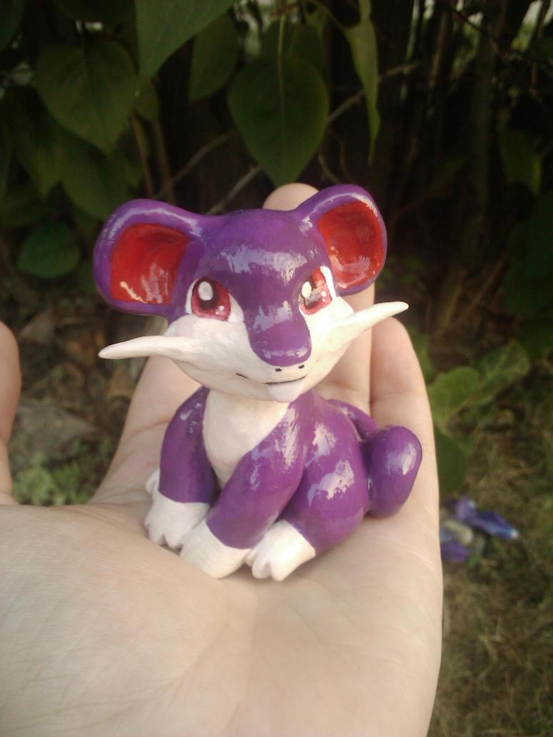 Rattata Sculpt by Sara121089
