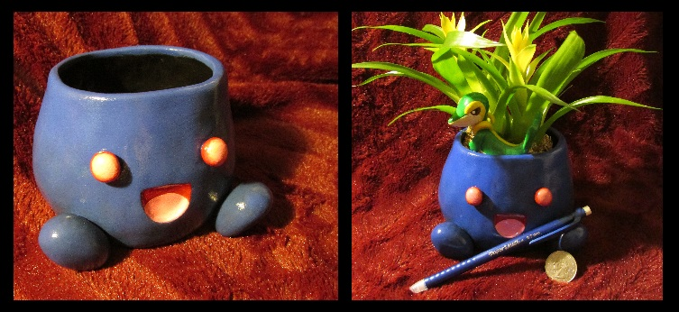 Oddish Pot Empty and Size Refs by Sara121089