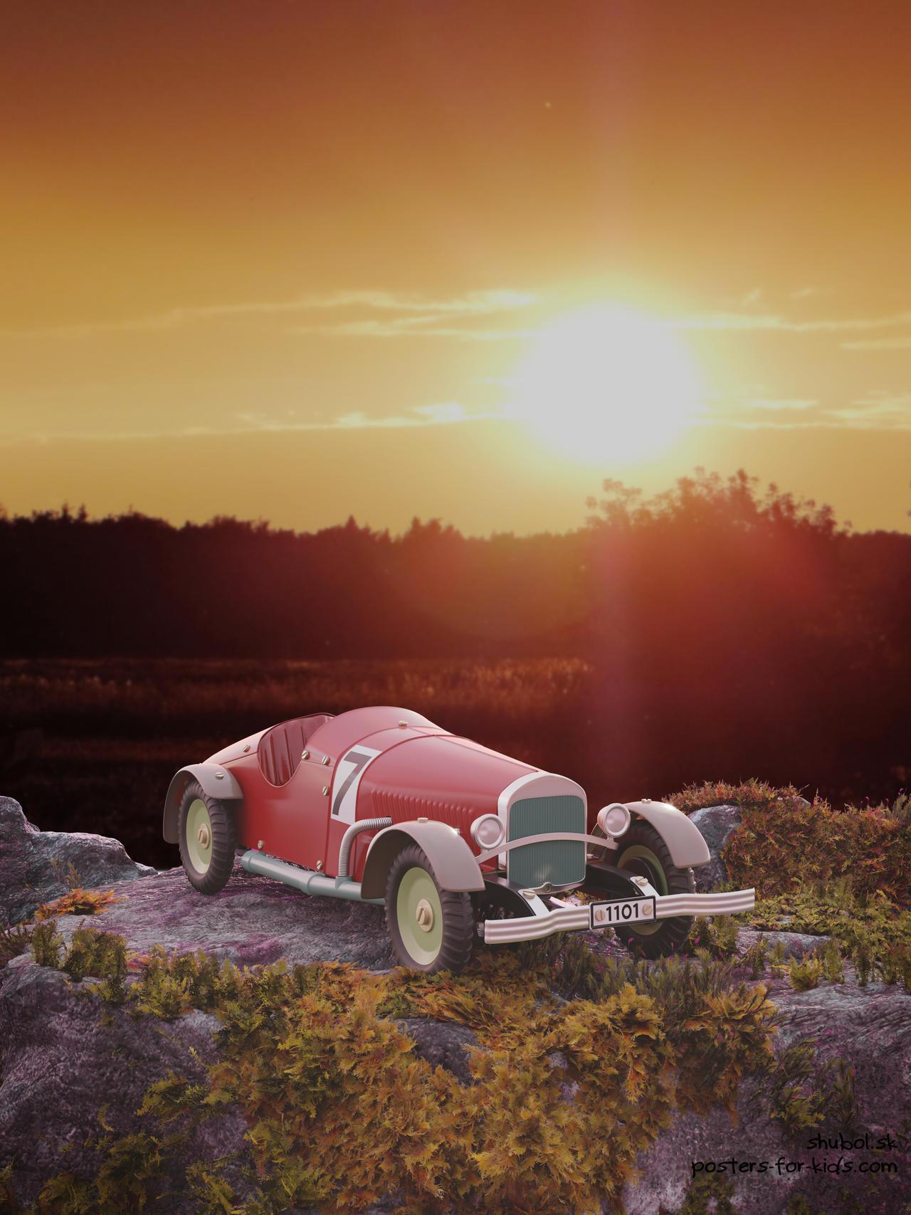 Mercedes-Benz - Vintage car toy