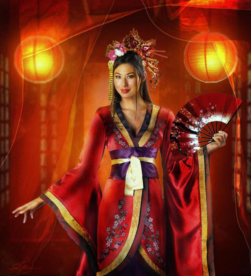 geisha by REDxBeast